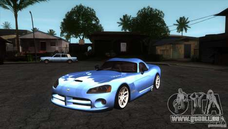 Dodge Viper SRT10 Stock pour GTA San Andreas