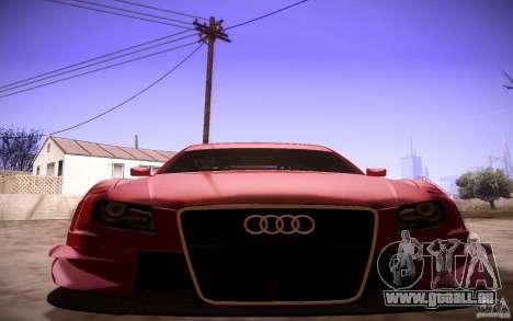 Audi A4 DTM pour GTA San Andreas vue de côté