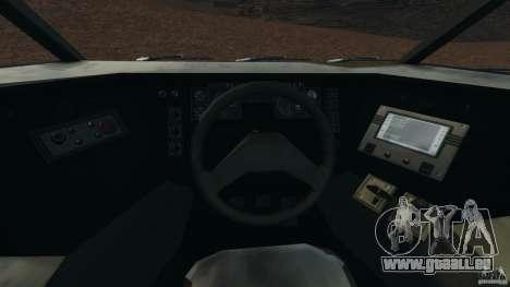 Armored Security Vehicle für GTA 4 Rückansicht