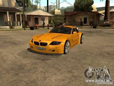 BMW Z4 Style Tuning für GTA San Andreas