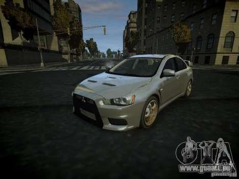 Mitsubishi Lancer Evolution X für GTA 4