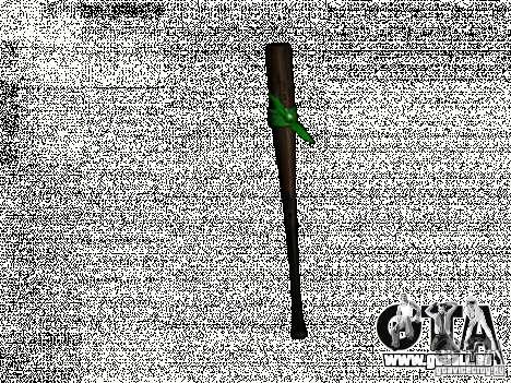 Mèches avec un brassard vert pour GTA San Andreas