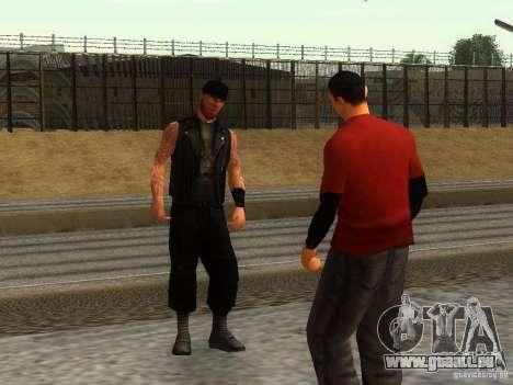 Die realistische Schule Biker v1. 0 für GTA San Andreas dritten Screenshot