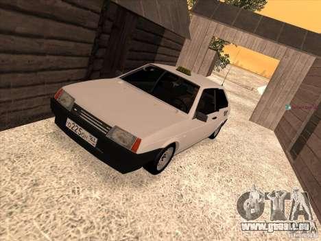VAZ 2108 Taxi pour GTA San Andreas