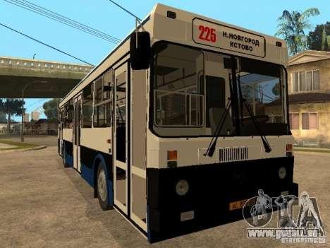 LIAZ 5256.00 pour GTA San Andreas laissé vue