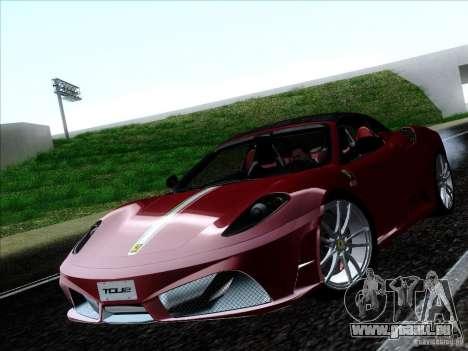 Ferrari F430 Scuderia Spider 16M für GTA San Andreas rechten Ansicht