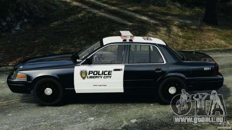 Ford Crown Victoria Police Interceptor 2003 LCPD für GTA 4 linke Ansicht