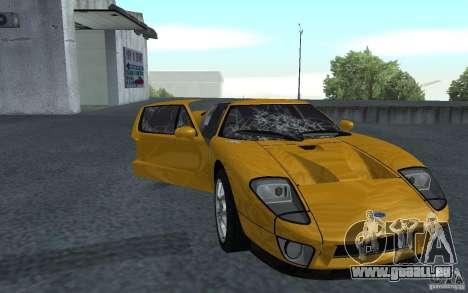 Ford GT 40 pour GTA San Andreas laissé vue