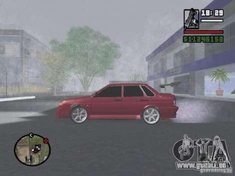 VAZ 2115 TUNING für GTA San Andreas linke Ansicht