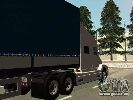 Volvo VNL pour GTA San Andreas vue de droite