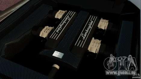 Lamborghini Murcielago LP670-4 SV [EPM] pour GTA 4 est une vue de l'intérieur