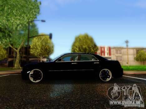 Chrysler 300C VIP pour GTA San Andreas laissé vue