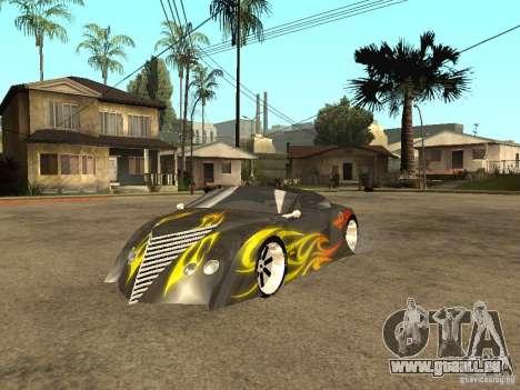 Thunderbold SlapJack für GTA San Andreas Seitenansicht