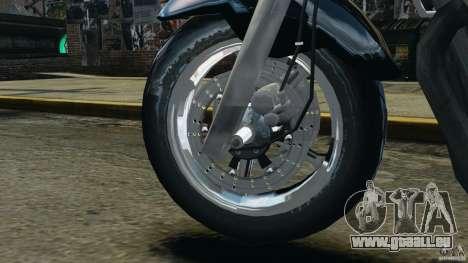 Kawasaki Zephyr pour GTA 4 est une vue de l'intérieur