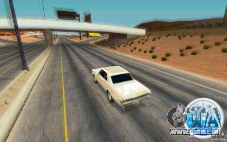CraZZZy Speedometer v.2.1 Lite pour GTA San Andreas deuxième écran