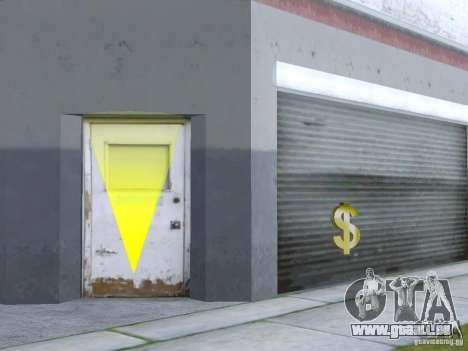 Affaires Cj v2.0 pour GTA San Andreas deuxième écran
