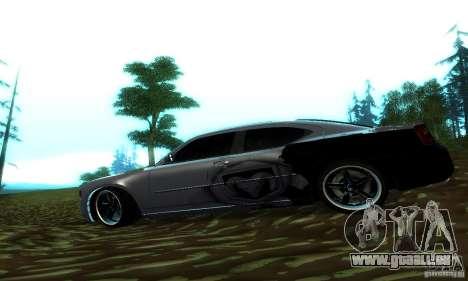 Dodge Charger SRT8 Mopar pour GTA San Andreas laissé vue