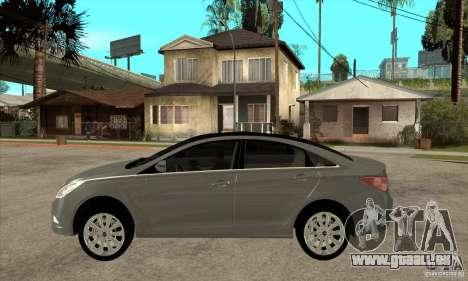 Hyundai Sonata 2011 für GTA San Andreas linke Ansicht