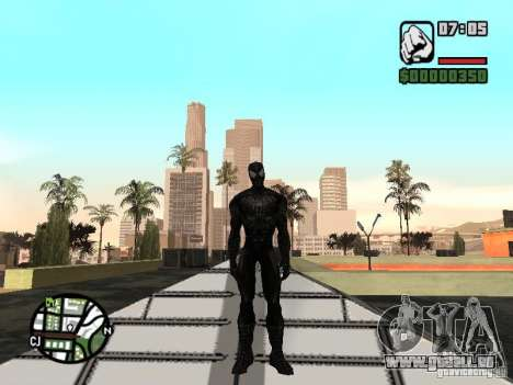 Spiderman Feind in Reflexion für GTA San Andreas dritten Screenshot