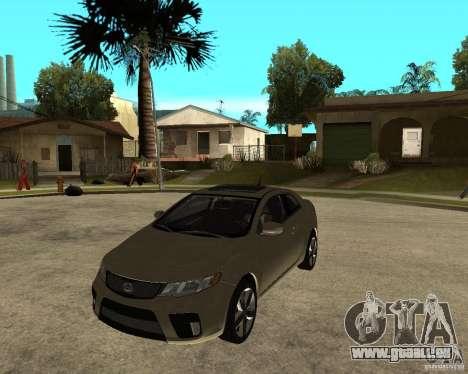 KIA Forte Coup pour GTA San Andreas