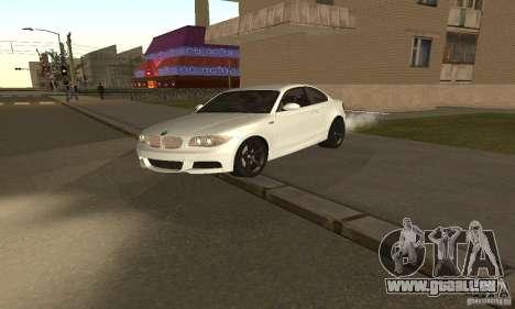 BMW 135i Coupé für GTA San Andreas linke Ansicht
