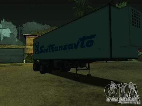 Container-Reederei + Sovtransavto für GTA San Andreas rechten Ansicht
