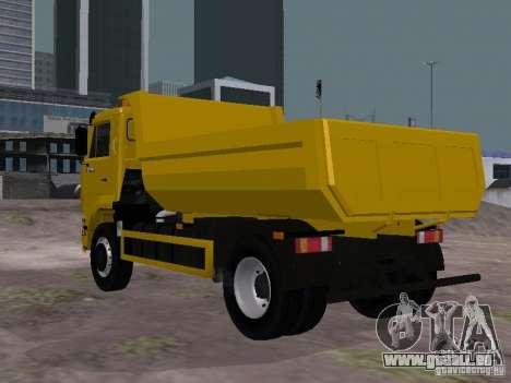 KAMAZ-53605-TAI Version 1.1 für GTA San Andreas zurück linke Ansicht