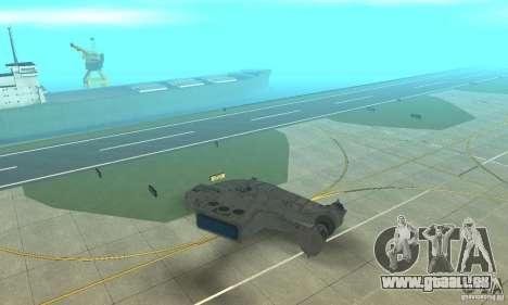 YT-2400 Gazette für GTA San Andreas zurück linke Ansicht