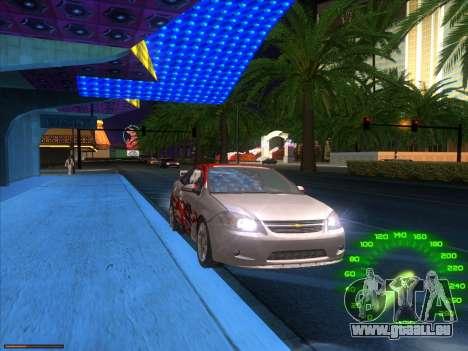 ENBSeries by laphund v2 pour GTA San Andreas deuxième écran