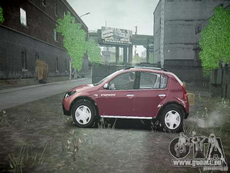 Dacia Sandero Stepway pour GTA 4 est une gauche