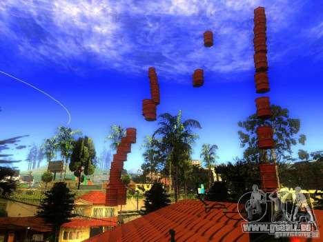 Bombe pour GTA San Andreas troisième écran