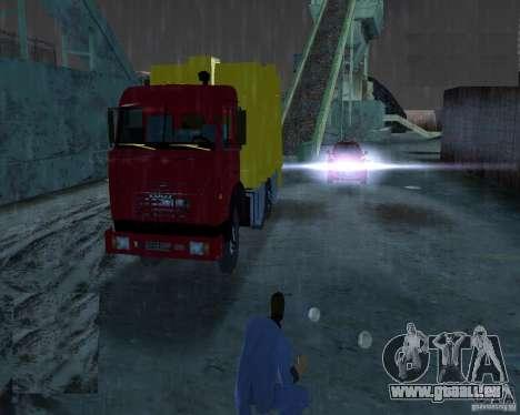 KAMAZ camion à ordures pour GTA Vice City