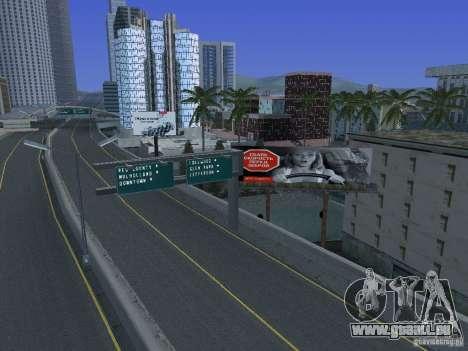 Nouvelles affiches autour de l'État pour GTA San Andreas