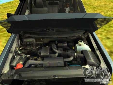 Ford F-150 Off Road für GTA San Andreas zurück linke Ansicht