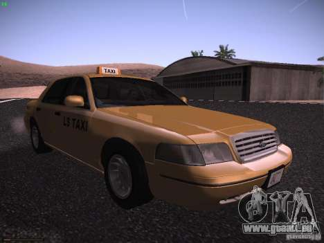 Ford Crown Victoria Taxi 2003 für GTA San Andreas