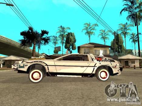 DeLorean DMC-12 für GTA San Andreas linke Ansicht