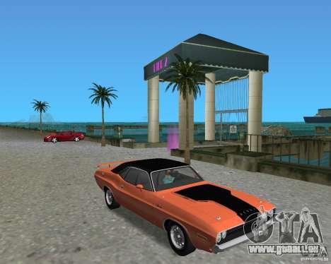 1970 Dodge Challenger R/T Hemi pour GTA Vice City