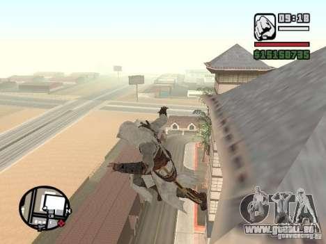 Die Fähigkeit von Assassins Creed für GTA San Andreas zweiten Screenshot