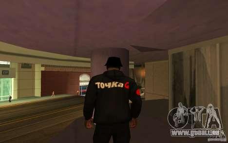 Veste-Point (G) pour GTA San Andreas troisième écran
