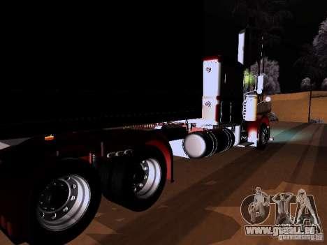 Peterbilt 389 Custom 2009 pour GTA San Andreas laissé vue