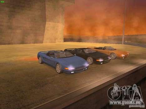 Infernus Revolution pour GTA San Andreas vue arrière