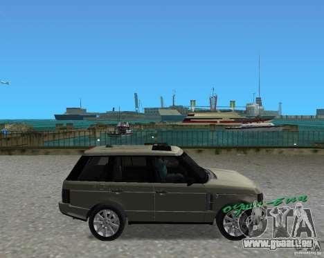 Rang Rover 2010 für GTA Vice City rechten Ansicht