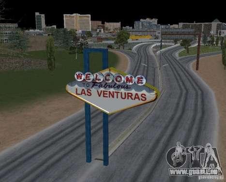Real New Vegas v1 pour GTA San Andreas troisième écran