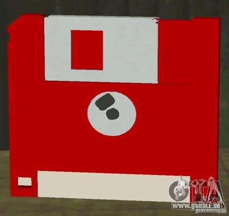 Neue HD-Diskette speichern für GTA San Andreas zweiten Screenshot