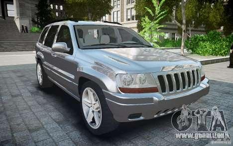 Jeep Grand Cheroke für GTA 4 rechte Ansicht