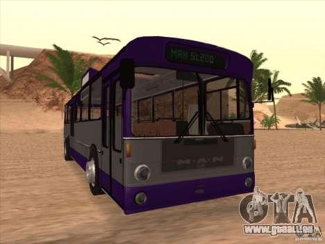 MAN SL200 Exclusive v.1.00 pour GTA San Andreas