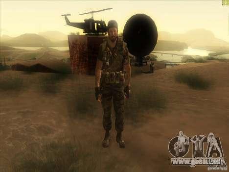 Frank Woods für GTA San Andreas sechsten Screenshot