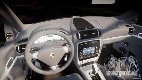 Porsche Cayenne Turbo S 2009 pour GTA 4 Vue arrière