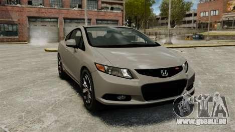 Honda Civic Si Coupe 2012 pour GTA 4