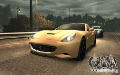 Ferrari California pour GTA 4